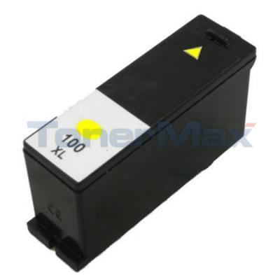 LEXMARK 100XL INK CARTRIDGE YELLOW RP HY